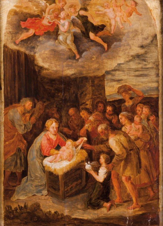 Natividade e adoração dos pastores