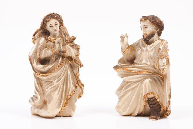 Nossa Senhora e São José