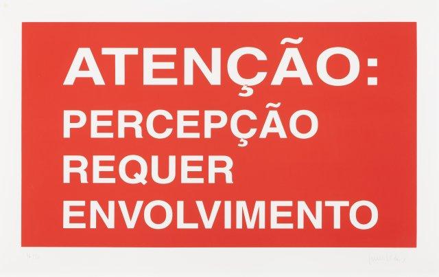 """""""Atenção"""", 2002"""