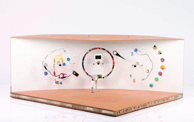 """""""Maqueta da Fundação Champalimaud (esc. 1:25)"""", 2010"""