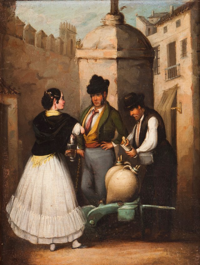 Quotidian scenes, Spain
