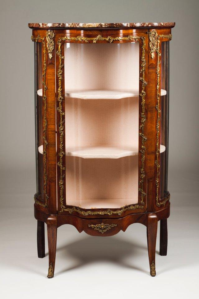 A Louis XVI style showcase