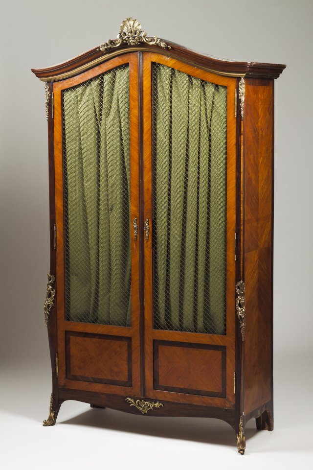 A Napoleon III bookcase