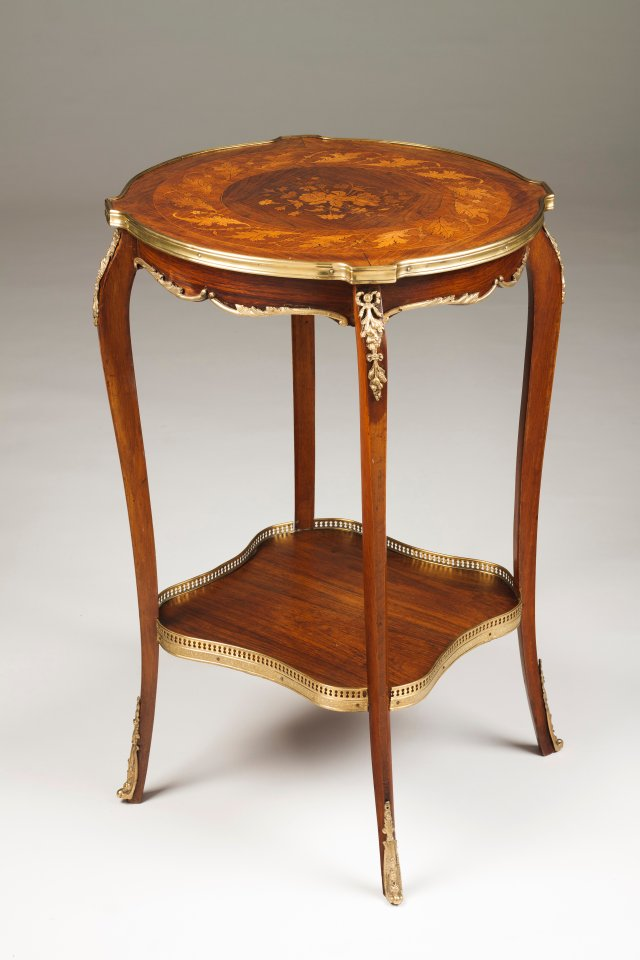 A Napoleon III occasional table