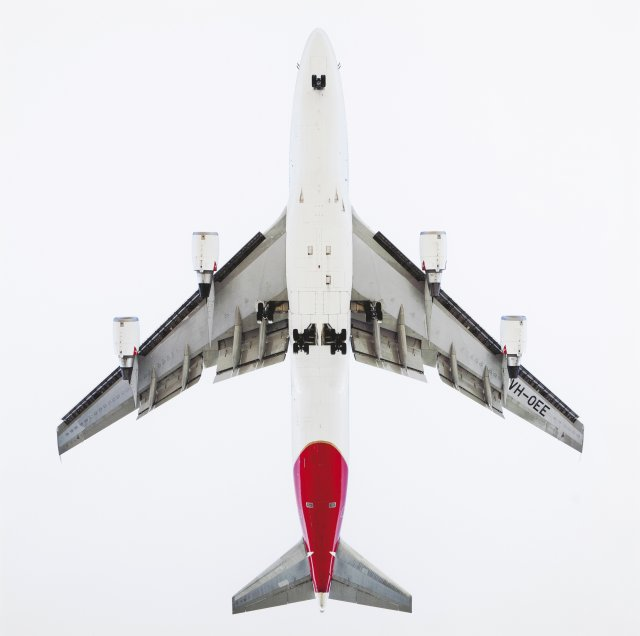"""Qantas boeing 747-400"", 2005-2009"