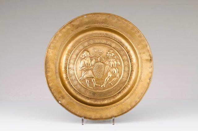 A Nuremberg alms dish