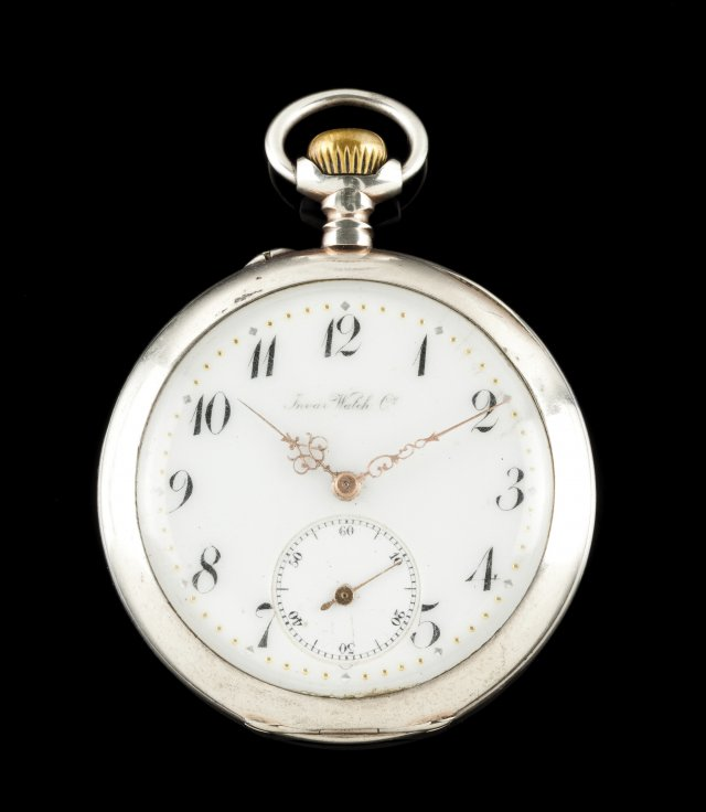 Invar pocket watch