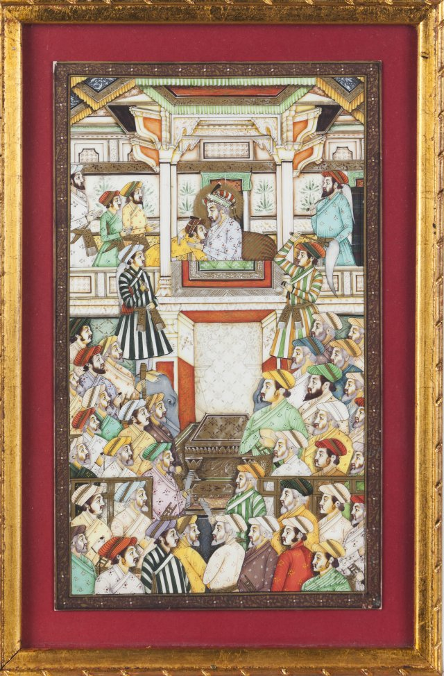 Cenas do Durbar de Shah Jahan