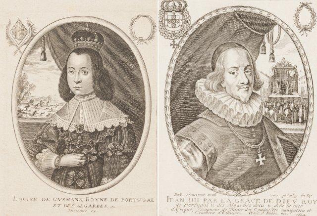 Rei D. João IV e Rainha D. Luísa de Gusmão
