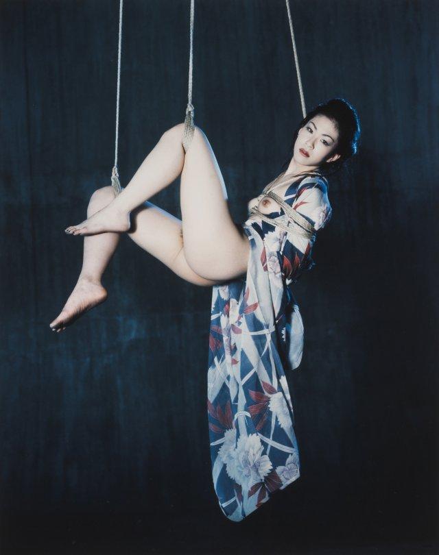 """Woman in Kimono"""