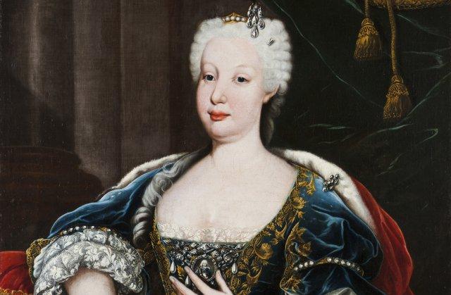 Portrait of D. Maria Bárbara de Bragança (1711-1758), Queen of Spain