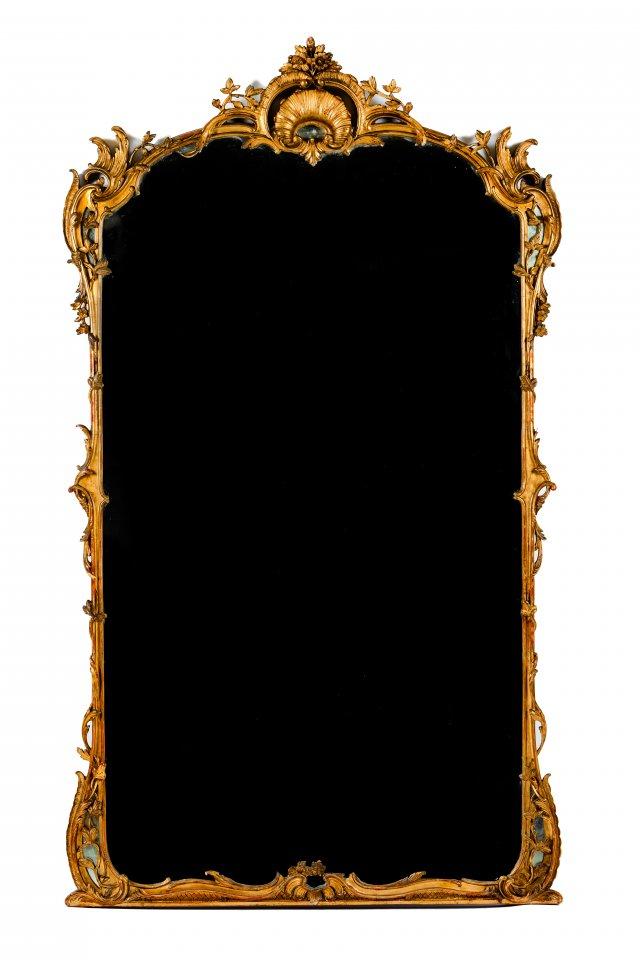 A large Louis XV mirror