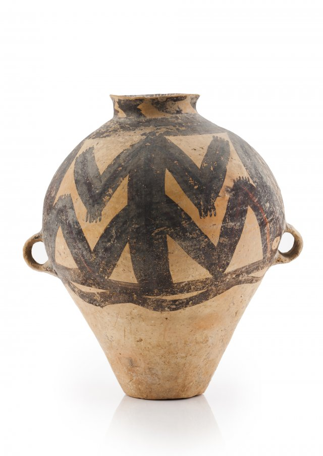 A Machang painted jar