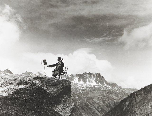 """Maurice Baquet à Chamonix"", 1960"