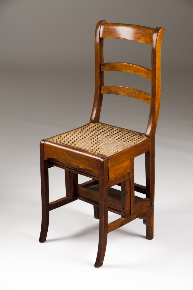 A library chair/ladder