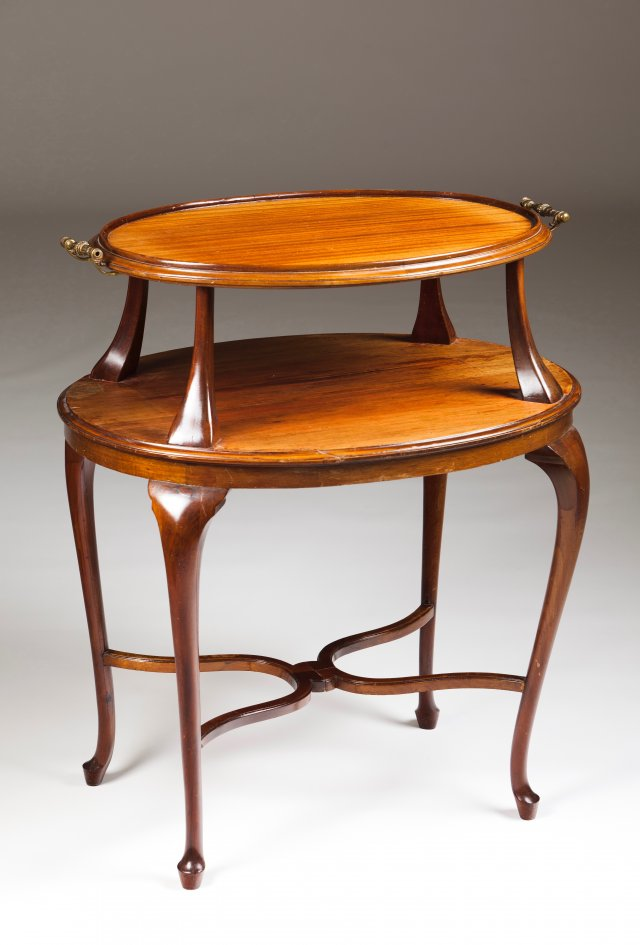 A pedestal table