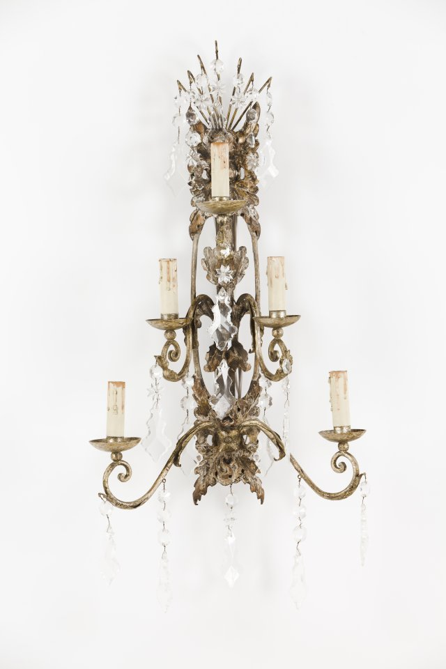 A pair of D.Maria wall sconces