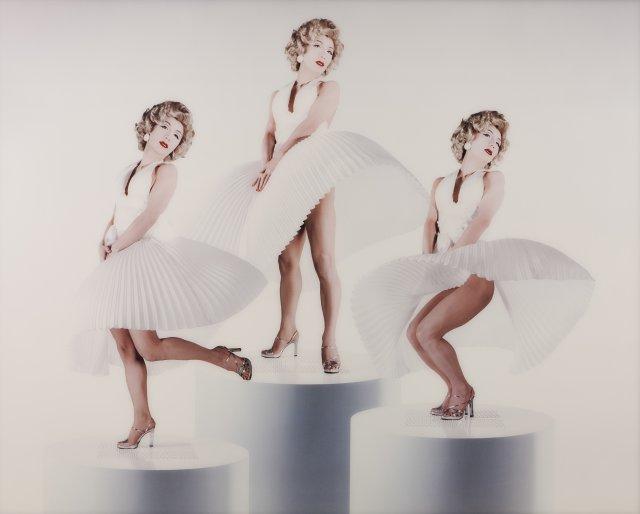 """Self-Portrait (Actress)/White Marilyn"""