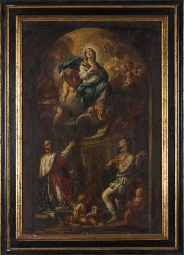 Nossa Senhora e S. Luis, rei dos franceses