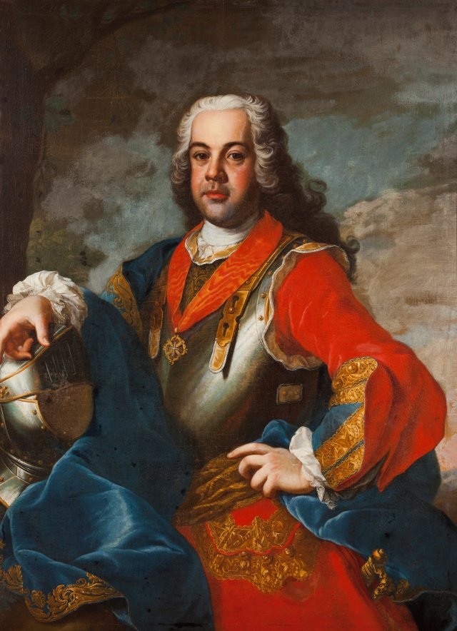 Prince Francisco of Braganza, Infante of Portugal,  7th Duke of Beja and Great-Prior of the Order of Malta in Portugal