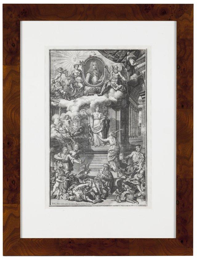 An allegory to King João V