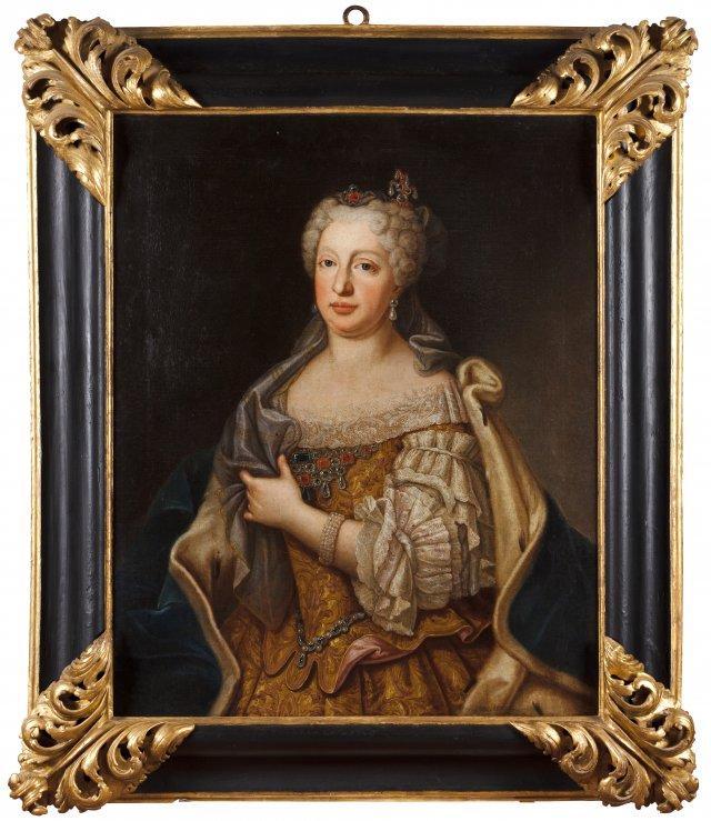 Portrait of Queen Maria Ana de Áustria (1683-1754)
