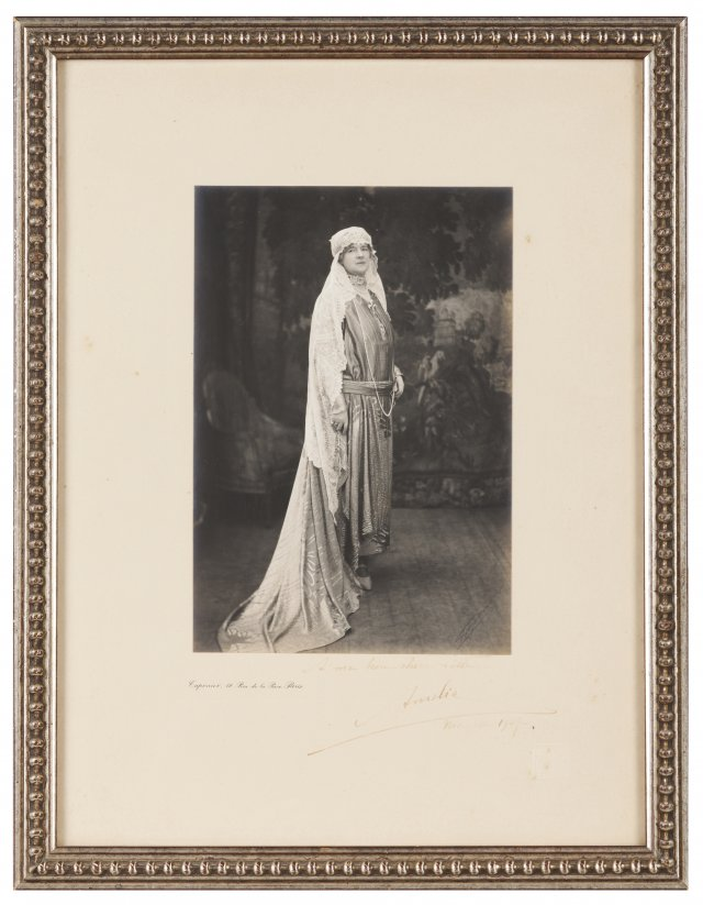 A photograph of Queen Amelia of Portugal
