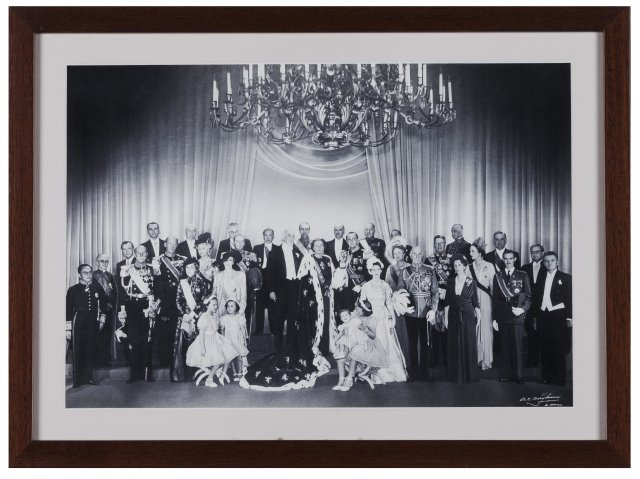 The coronation of Queen Juliana of the Netherlands
