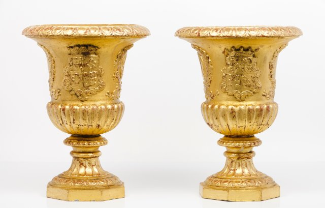 A pair of cachepots