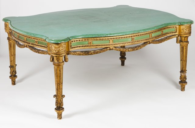 A large Neoclassical centre table