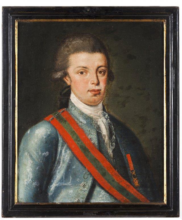 Prince João (future João VI, king of Portugal) and Princess Carlota Joaquina