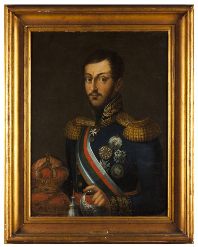 Portrait of King Miguel I of Portugal (1801-1865)