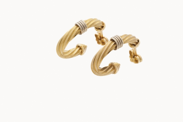 [Auction 73] Lot 10 – A pair of earrings