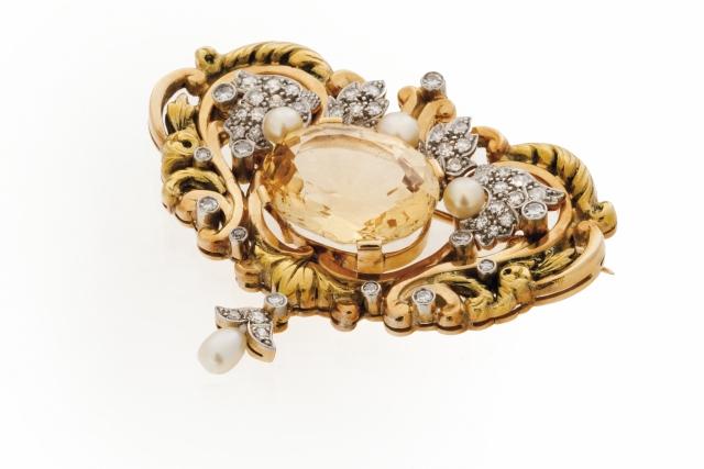 [Auction 73] Lot 20 – A Retro brooch