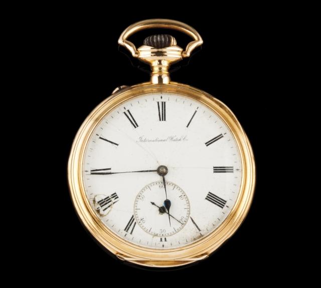 [Auction 73] Lot 32 – A pocket watch, INTERNATIONAL WATCH & Co.