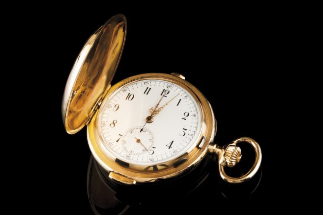 A repetition pocket watch