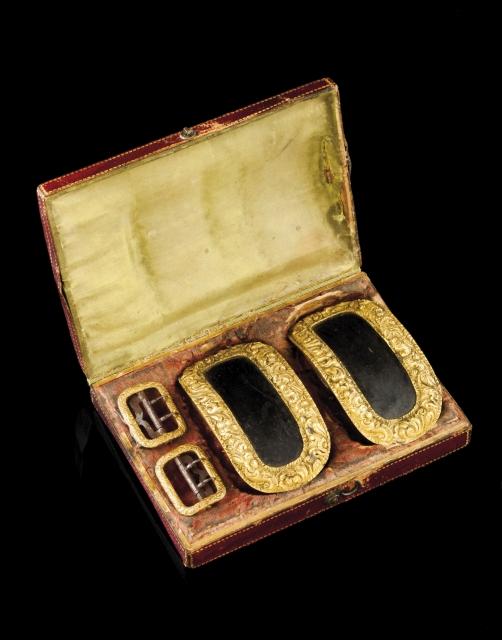 [Auction 73] Lot 39 – A set of gentleman buckles
