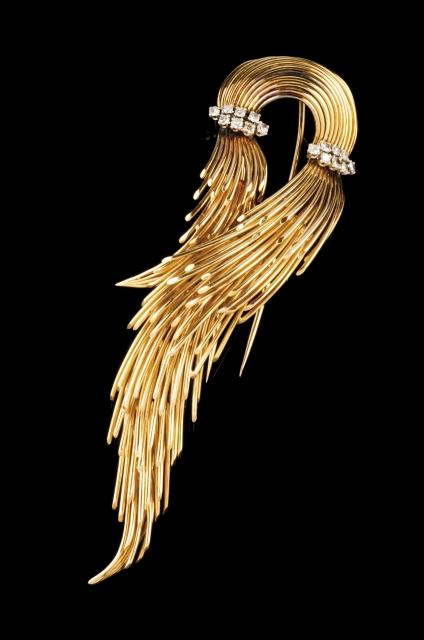[Auction 73] Lot 51 – A Modernist brooch
