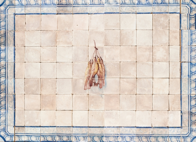 [Auction 72] Lot 31 – A late 18th, early 19th century tile panel