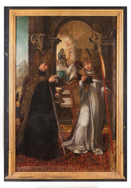 [Auction 72] Lot 43 – Saint Benedict and Saint Bernard