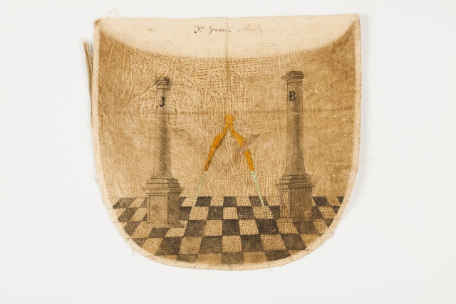 [Auction 72] Lot 58 – Master's masonic apron